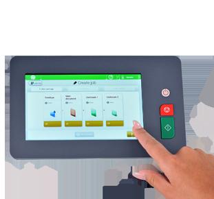 Touchscreen imbustatrice FPI 4700